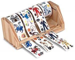 Гигантский набор наклеек на ролике для мальчиков, 1300 шт