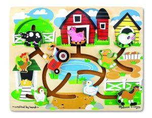 Лабиринт-пазл Melissa & Doug - Ферма, MD4303