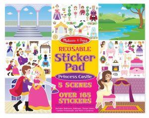Набор многоразовых наклеек Melissa & Doug - Замок принцессы