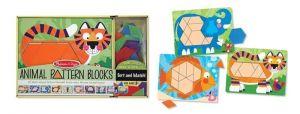 Мозаика деревянная - Животные, Melissa & Doug