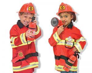 Карнавальный костюм Пожарный на 3 года Melissa & Doug