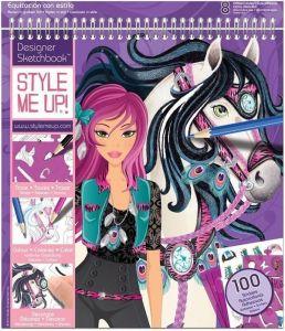 "Альбом для творчества ""Модная наездница"" Style Me Up!"
