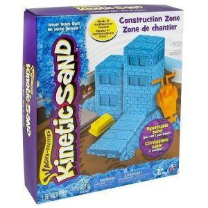 Набор песка для детского творчества KINETIC SAND CONSTRUCTION ZONE 283 г.