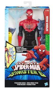 Титаны: Человек-Паук Паутинные Бойцы с оружием Hasbro