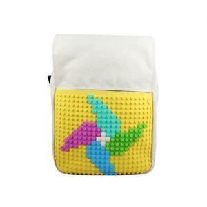 Рюкзак Upixel Fliplid Бело-желтый
