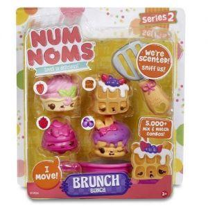 Набор ароматных игрушек NUM NOMS S2 ЛА-ЛА-ЛАНЧ (3 нама, 1 ном, с аксессуарами)