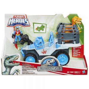 Jurassic World  Игровой набор: динозавр и транспортное средство (в ассорт.)
