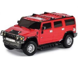 Автомодель HUMMER H2 1:26 (ассорт. серый, красный, свет, звук, инерц.)