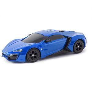 Автомодель W MOTORS LYKAN HYPERSPORT 1:26 (ассорт. синий, красный, свет, звук, инерц.)