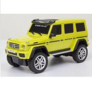 Автомодель MERCEDES-BENZ G500 1:26 (ассорт. желтый, серебристый, свет, звук, инерц.)