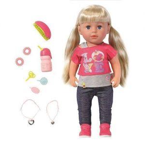 Кукла BABY BORN СТАРШАЯ СЕСТРЁНКА (43 см, с аксессуарами)