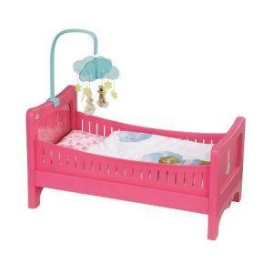 Интерактивная кроватка для куклы BABY BORN - РАДУЖНЫЕ СНЫ (свет, звук)