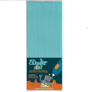 Набор стержней для 3D-ручки цвет голубой, 24 шт.
