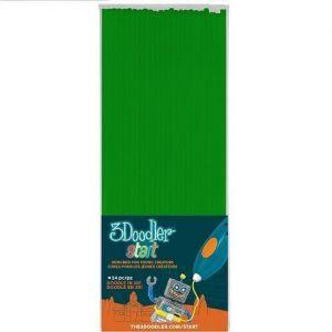 Набор стержней для 3D-ручки цвет зеленый, 24 шт.