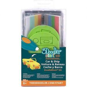 Набор аксессуаров для 3D-ручки 3Doodler Start ТРАНСПОРТ