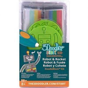 Набор аксессуаров для 3D-ручки 3Doodler Start РАКЕТА