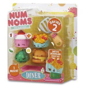 Набор ароматных игрушек NUM NOMS S2 ФАСТ ФУД  (3 нама, 1 ном, с аксессуарами)