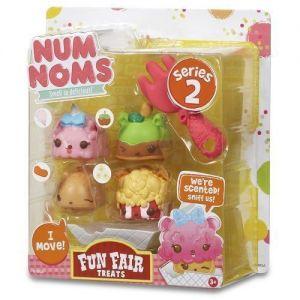 Набор ароматных игрушек NUM NOMS S2 ПРАЗДНИЧНОЕ УГОЩЕНИЕ  (3 нама, 1 ном, с аксессуарами)