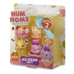 Набор ароматных игрушек NUM NOMS S2 ДЖЕЛАТТО (3 нама, 1 ном, с аксессуарами)