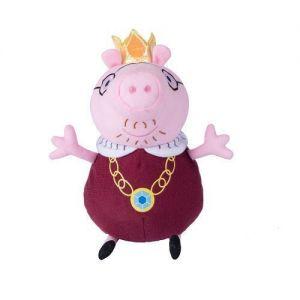 Мягкая игрушка ПАПА СВИН КОРОЛЬ (30 см), Свинка Пеппа