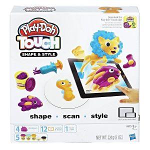 Игровой набор Play-Doh ЛЕПИ И ДЕЛАЙ ПРИЧЁСКИ, Hasbro