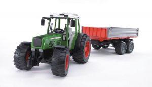 Bruder Трактор Fendt 209 S с прицепом, М1:16