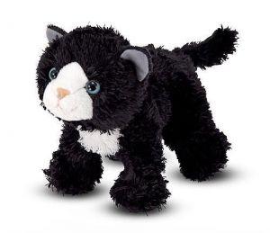 Мягкая игрушка Черный котенок Лекси 18 см Melissa & Doug