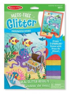 Набор для творчества с блестящими наклейками Морские обитатели Melissa & Doug MD19510