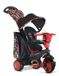 Велосипед детский Smart Trike Boutigue 4 в 1 черно-красный