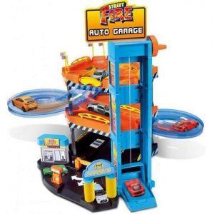 Игровой набор ПАРКИНГ Bburago (3 уровня, 2 машинки 1:43)