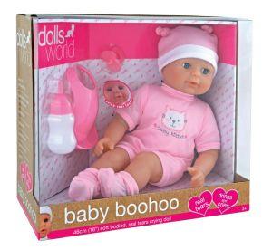 Пупс DOLLS WORLD - Кукла, которая плачет, 46 см
