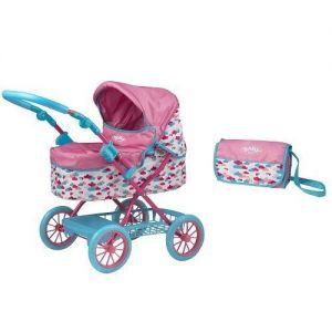 Коляска складная для куклы BABY BORN ДЕЛЮКС с сумочкой