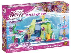Конструктор COBI 'Волшебный риф' Winx Club, 250 деталей