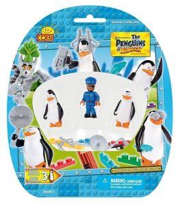 Конструктор COBI Фигурки Пингвины, 3шт в блистере