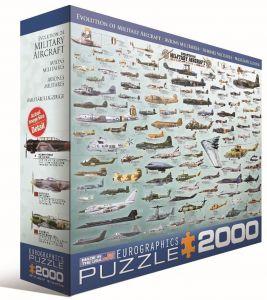 Пазл Eurographics Развитие военной авиации, 2000 элементов