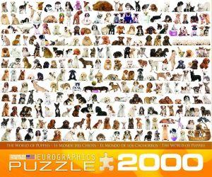 Пазл Eurographics Мир собак, 2000 элементов
