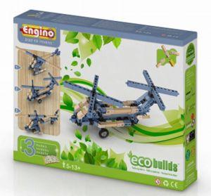 Конструктор Engino Вертолеты, 3 модели