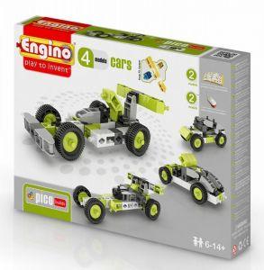 Конструктор Engino Машинки, 4 модели