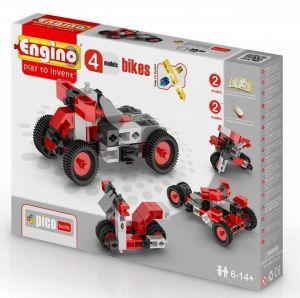 Конструктор Engino Мотоциклы, 4 модели