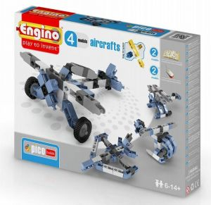 Конструктор Engino Самолеты, 4 модели