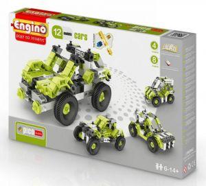 Конструктор Engino Машинки, 12 моделей