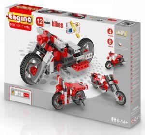 Конструктор Engino Мотоциклы, 12 моделей