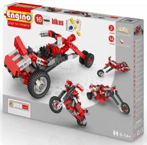 Конструктор Engino Мотоциклы, 16 моделей