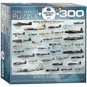Пазл Самолеты 2-й Мировой войны, Eurographics 300 элементов