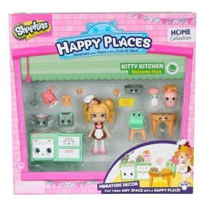 Игровой набор с куклой HAPPY PLACES S1 КУХНЯ КОКО КУККИ