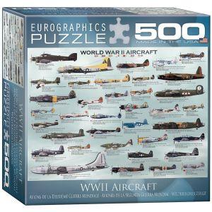 Пазл Eurographics Самолеты 2-й Мировой войны, 500 элементов