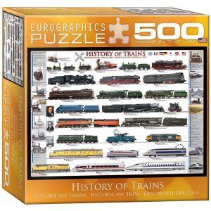 Пазл Eurographics История поездов, 500 элементов