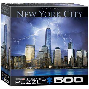 Пазл Eurographics Нью-Йорк Всемирный торговый центр, 500 элементов