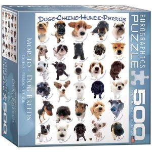 Пазл Eurographics Собаки, 500 элементов