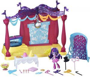Игровой набор мини-кукол Equestria Girls В школе